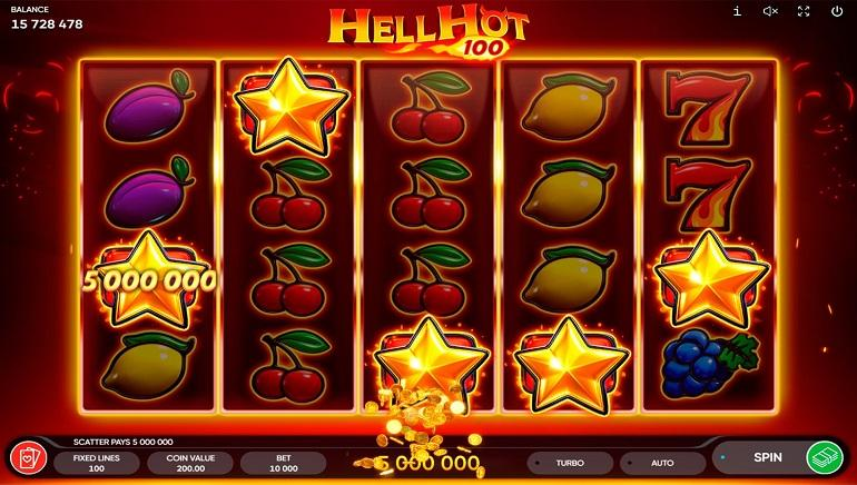 Hell Hot 100 Slot Emerges at Endorphina Casinos