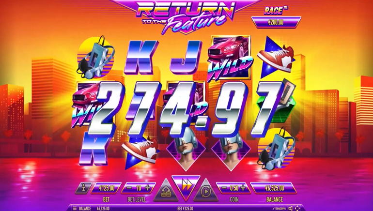 Travel Back to the 80s With Habanero's New Return to the Future Slot