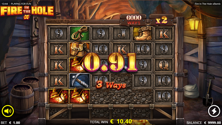 Slot Review: Fire in the Hole by Nolimit City