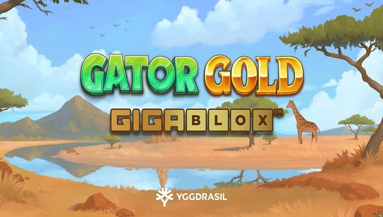 There's a Surprise on Every Spin in Yggdrasil's Gator Gold Gigablox Slot