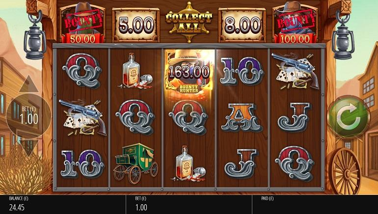 Go Bounty Hunting With New King of the West Slot by Blueprint Gaming