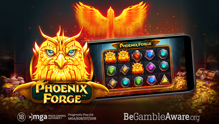Unlock The Power Of A Fabled Bird With The New Phoenix Forge Online Slot From Pragmatic Play